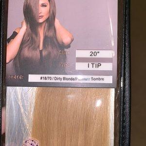 Bellami I-tip hair extensions